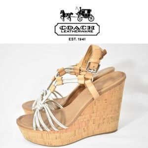 Coach Georgiana  Platform Wedges